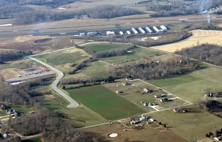 Aerial Photo of Upper Cumberland Business Park