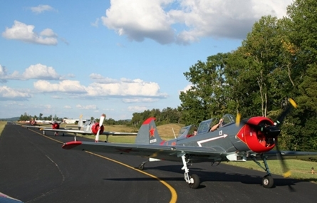 Photo of airplanes at the Upper Cumberland Regional Airport in Sparta, TN